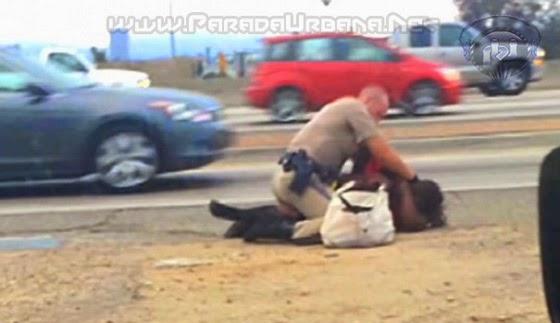 VIDEO - Mujer que fue golpeada por un policía, recibe 1,5 millones de indemnización