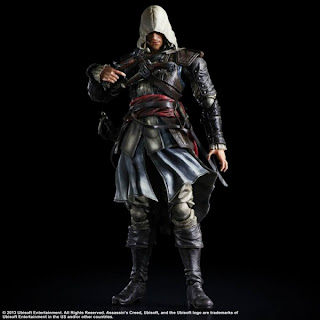 Square Enix Play Arts Kai Assassin's Creed IV Edward Kenway Figure