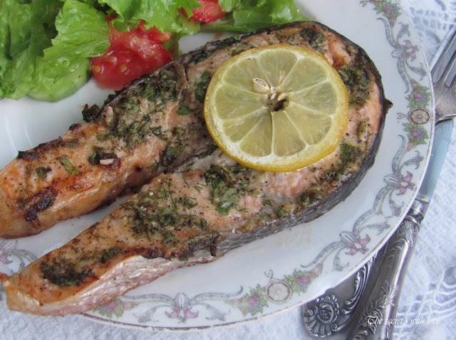 Ястия с охлюви, риба и морски дарове