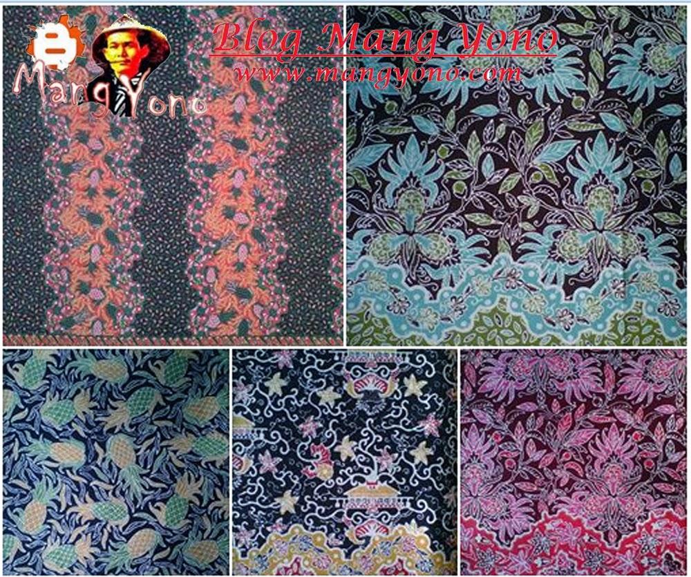Contoh Batik Ganasan Subang