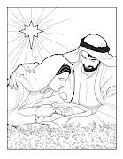 Nacimiento de Jesus para colorear, nacimiento para colorear, dibujos .