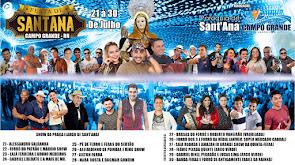 Atrações da Festa de Sant'Ana 2017 em Campo Grande/RN