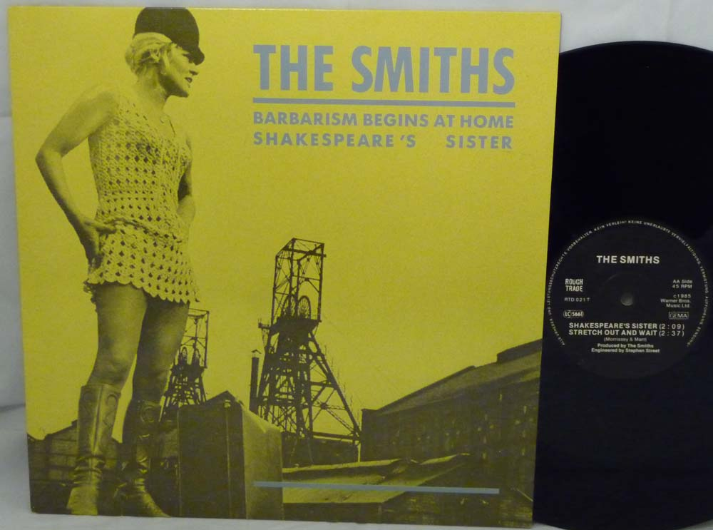 "dreams never end: THE SMITHS ""Barbarism Begins At Home"" 1985"