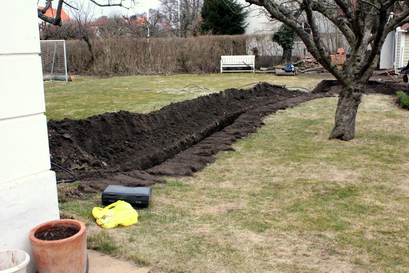 Trädgårdstid: Mitt växthus - del 2 (Bygga grunden)