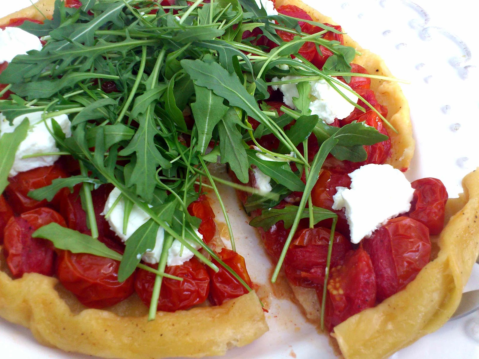 UndomestiKATEd: Tomato tarte tatin