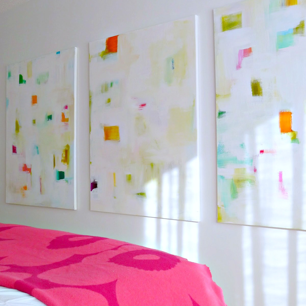 Diy abstract paintings