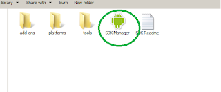 Install Android Software Development kit