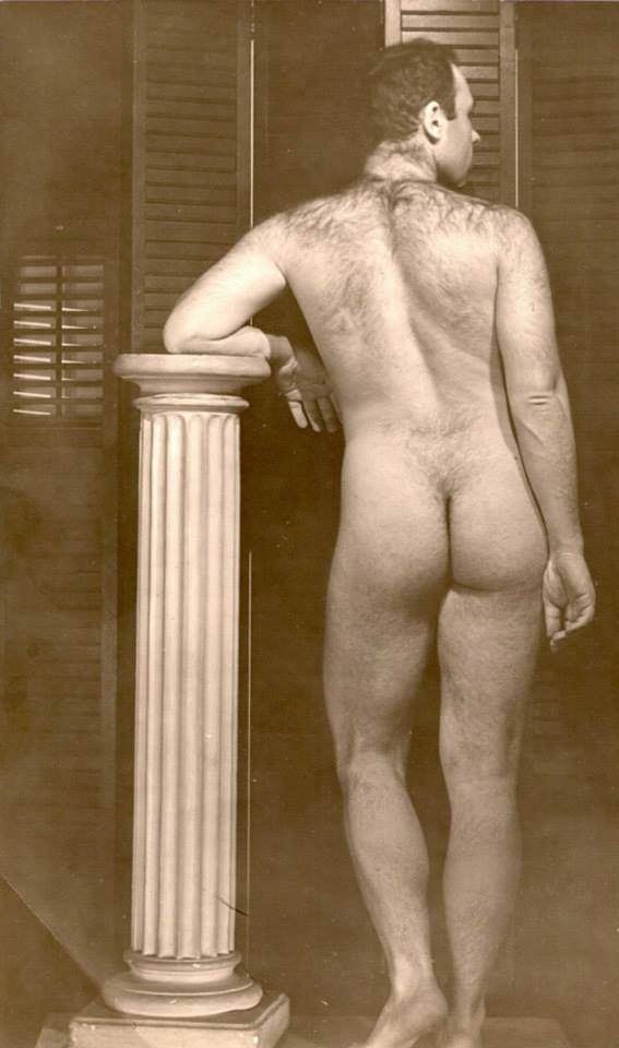Harold Norse during his ballet dancer days in New York City