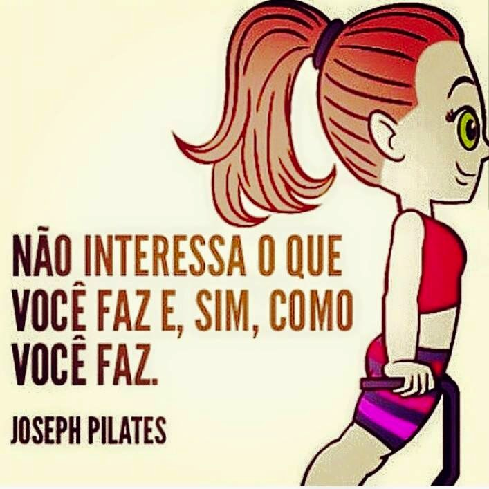 Preferência PERSONNALITË STUDIO E PILATES: Frase de Joseph Pilates JD16