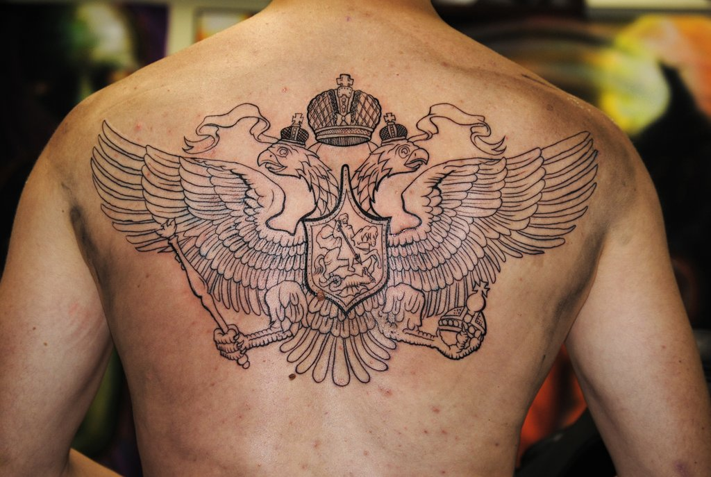 German imperial eagle tattoo - photo#9
