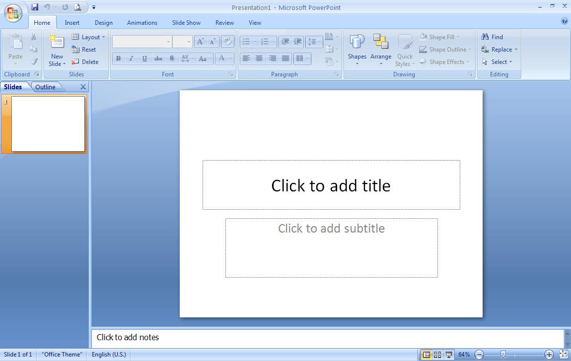 tutorial Microsoft Power Point Untuk Pemula ~ Artikel