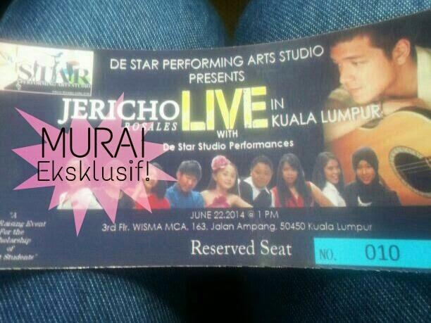 Peminat Bengang Konsert Jericho Rosales Dibatalkan Saat Akhir!
