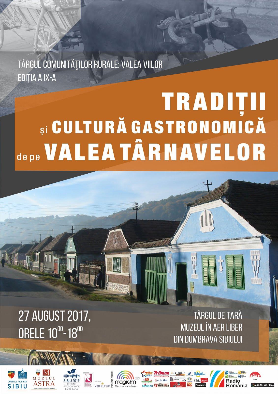 Tradiții și cultură gastronomică de pe Valea Târnavelor la Muzeul ASTRA