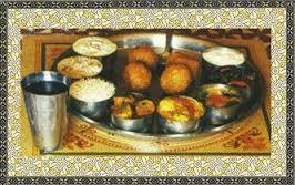 Bhog Thali for Shri Krishna
