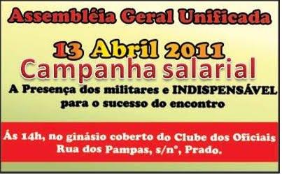 CAMPANHA SALARIAL 2011