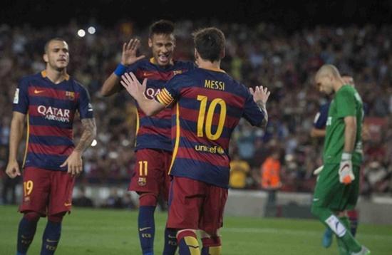 Barcelona 4 x 1 Levante - Campeonato Espanhol(La Liga) 2015/16