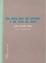 Libro: EN HITA HOY ES OTOÑO Y SE OYE EL MAR