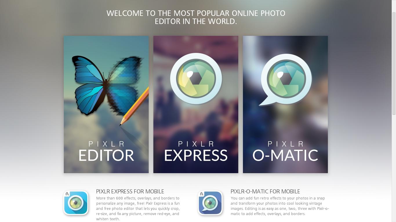 editare foto online