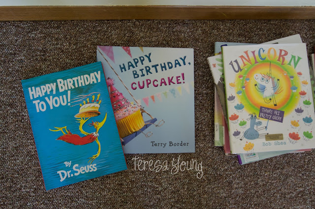 Dr. Seuss Happy Birthday to You Terry Border Happy Birthday Cupcake Bob Shea Unicorn Thinks He's Pretty Great preschool children's picture books