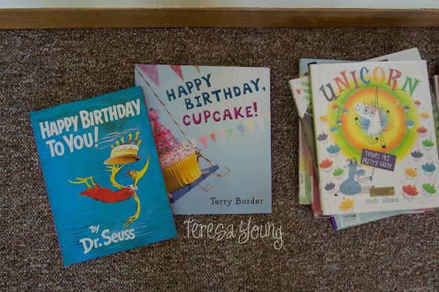 Dr. Seuss Happy Birthday to You Terry Border Happy Birthday Cupcake Bob Shea Unicorn Thinks He's Pretty Great preschool children's picture books