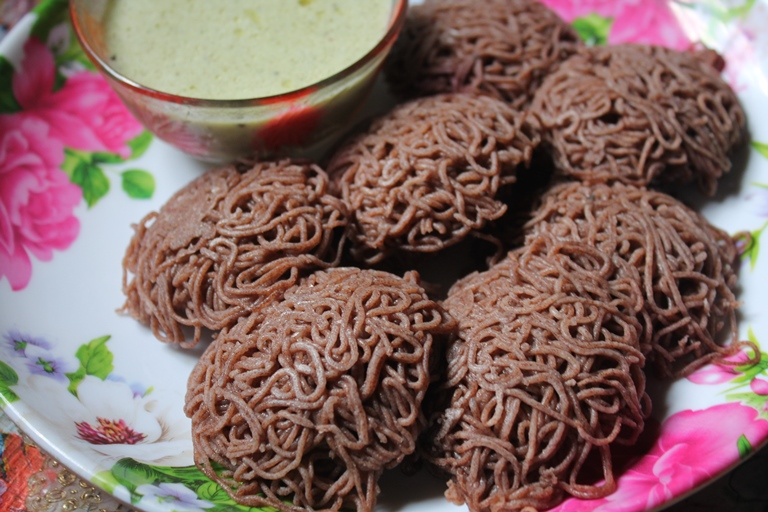 ragi idiyappam recipe, ragi - Ragi food recipes