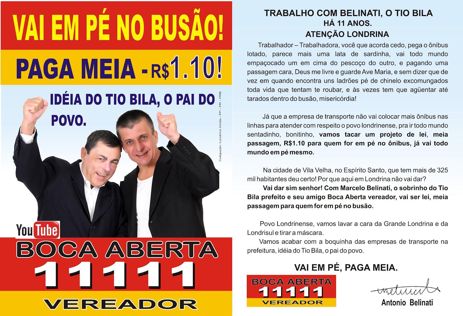 AMIGO BOCA-ABERTA