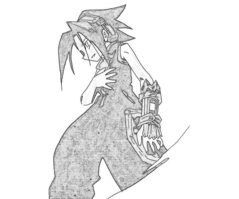shaman-king-yoh-asakura-art-coloring-pages