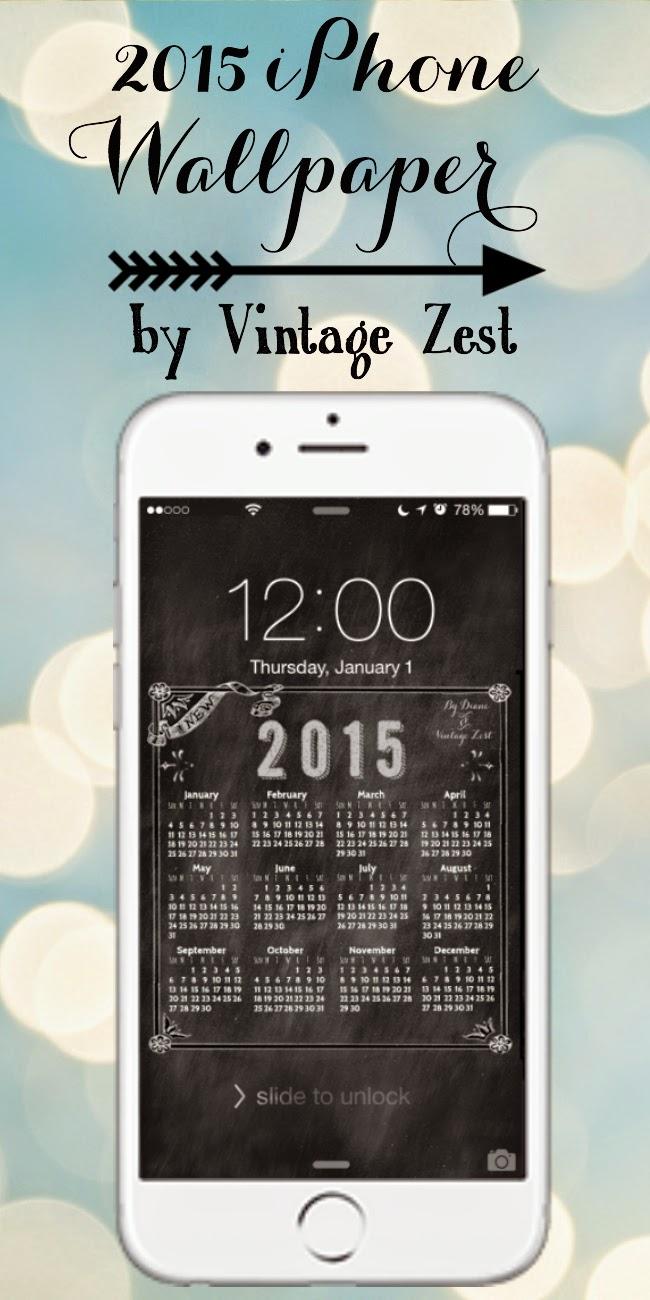 2015 iPhone Wallpaper Freebie! on Diane's Vintage Zest!