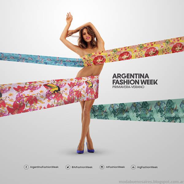 Argentina Fashion Week primavera verano 2015. Moda primavera verano 2015.