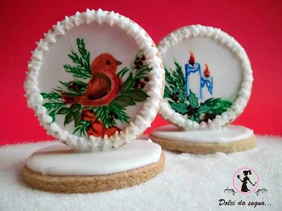 biscotti dipinti in 3d