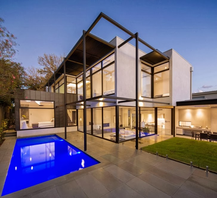 World of architecture contemporary style home by domoney Contemporary style house