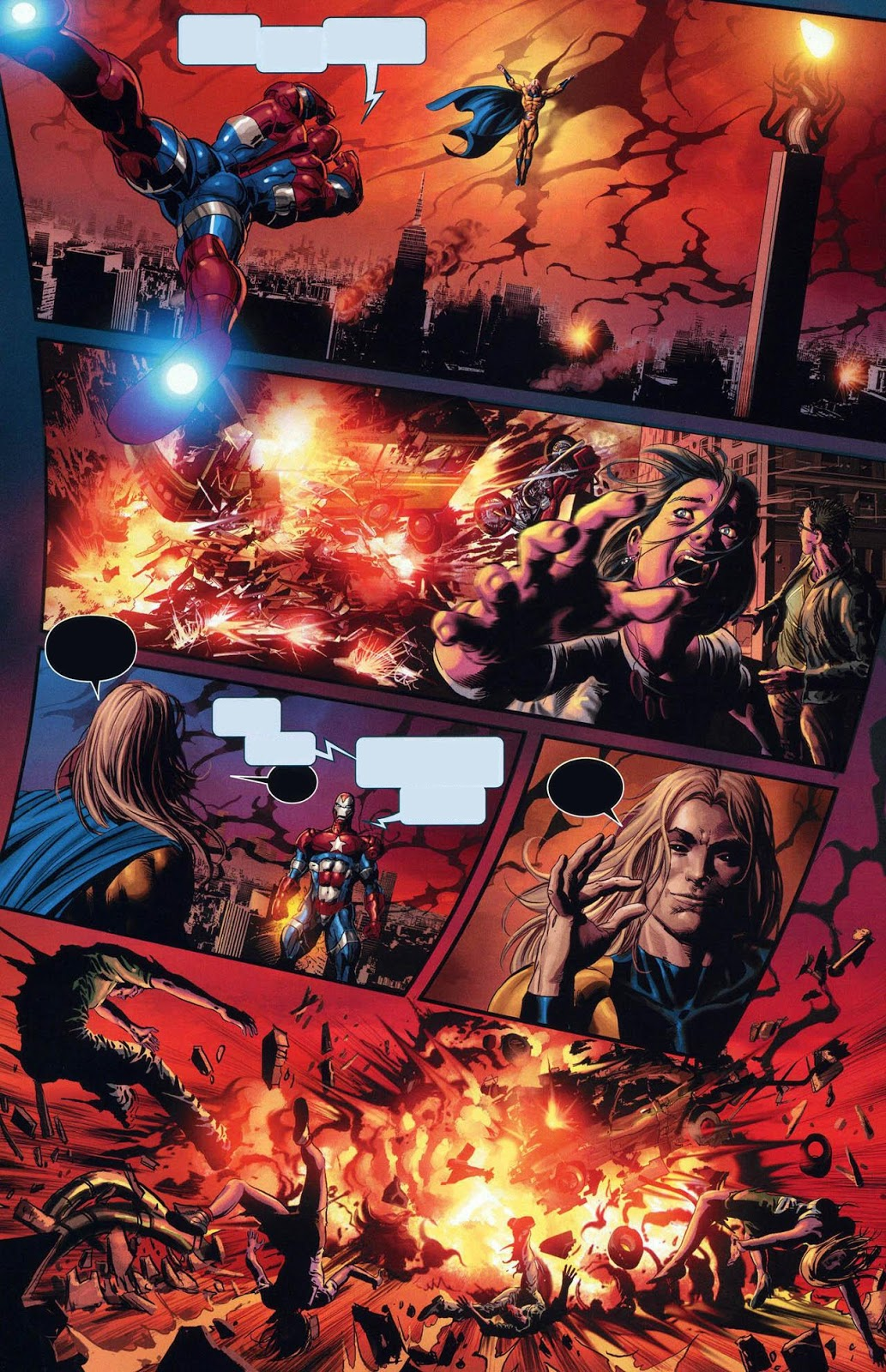 marvel body count 2010 the sentry loses it