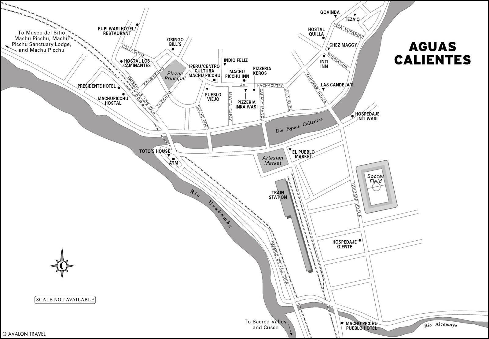 Aguas Calientes Peru Map.A Landscape Architect And A Passport Aguas Calientes Peru A