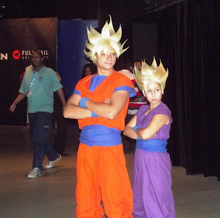 Goku and Gohan Brazilian Cosplay