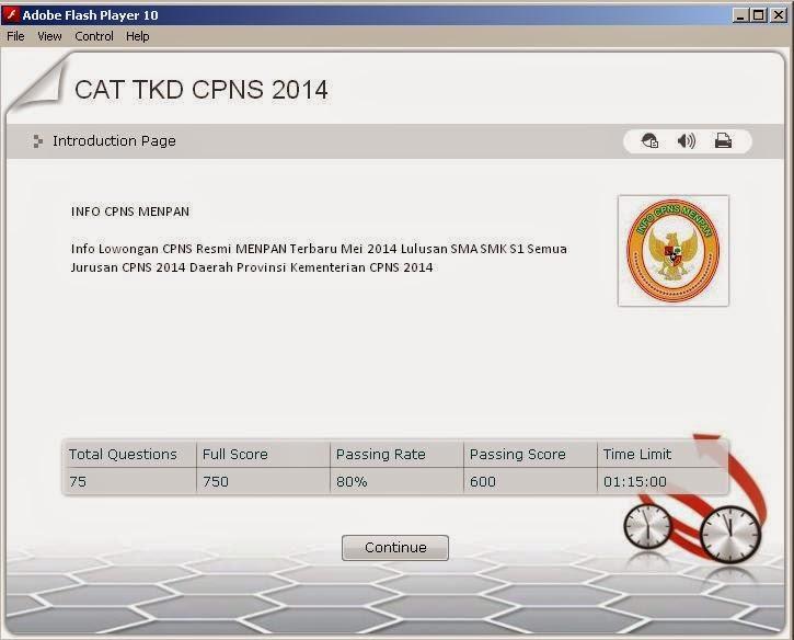 Free Download Software Cat Cpns Bermacam Informasi