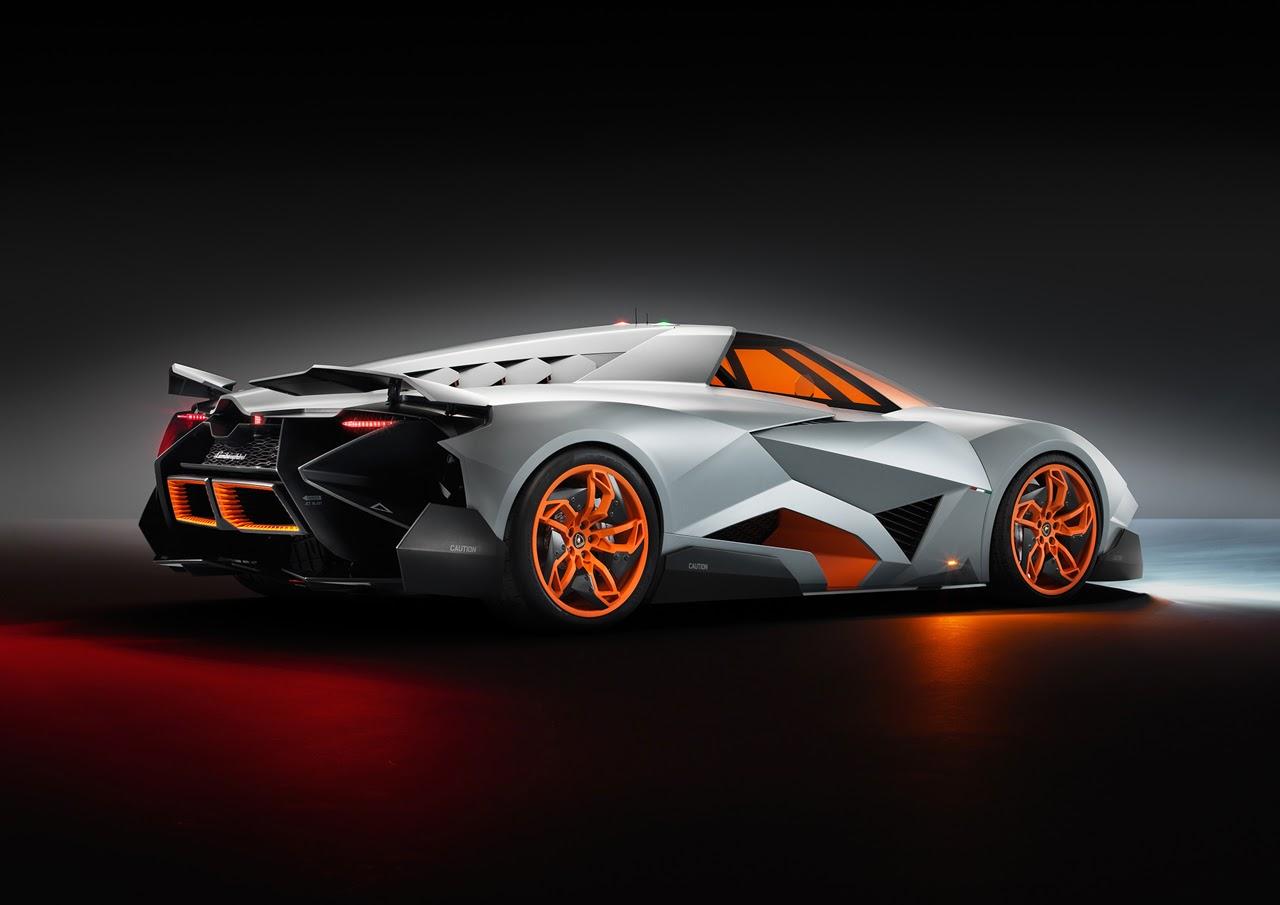 Egoista Lamborghini concept cars and cool single seat