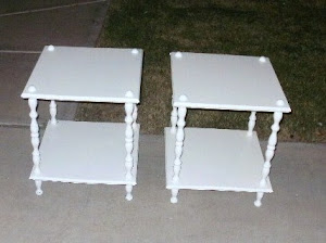Matching End Tables  *SOLD*