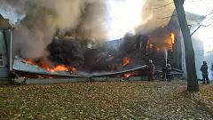 У Згурівці почали думати про пожежну безпеку після того, як згоріла спортшкола