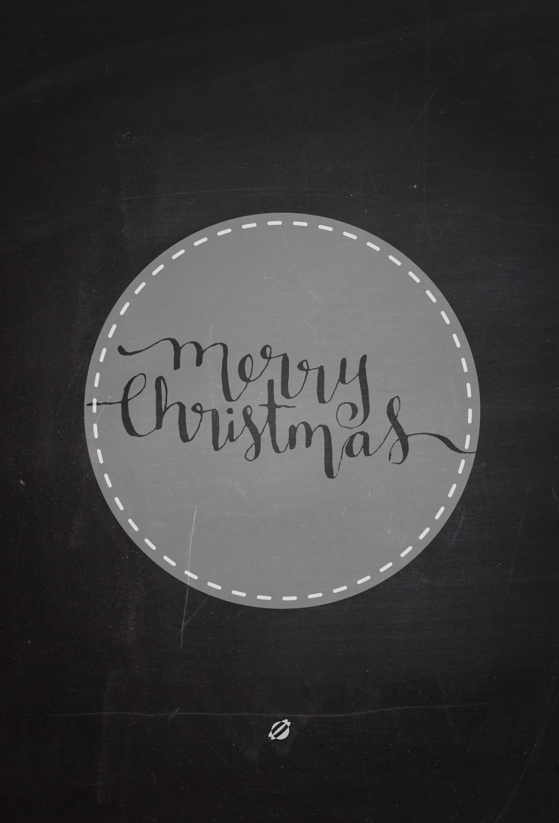 LostBumblebee 2013 HANDLETTERED MERRY CHRISTMAS FREE PRINTABLE