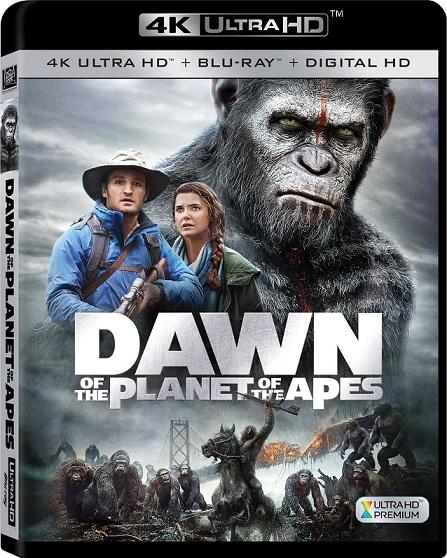 Dawn of The Planet of The Apes 4K (El Amanecer del Planeta de los Simios 4K) (2014) 2160p 4K UltraHD HDR BluRay REMUX 38GB mkv Dual Audio DTS-HD 7.1 ch