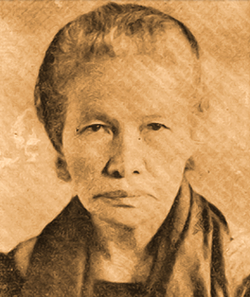 Gen. Teresa Ferraris Magbanua (1868-1947) of Pototan, Iloilo