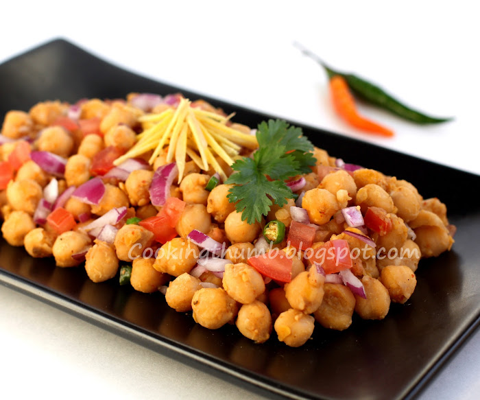 Chana Chaat (Chickpea Salad)