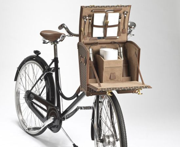 moynat luxury bicycle trunk photo