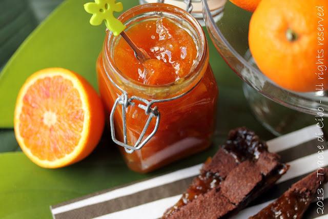 marmellata di arance con la buccia