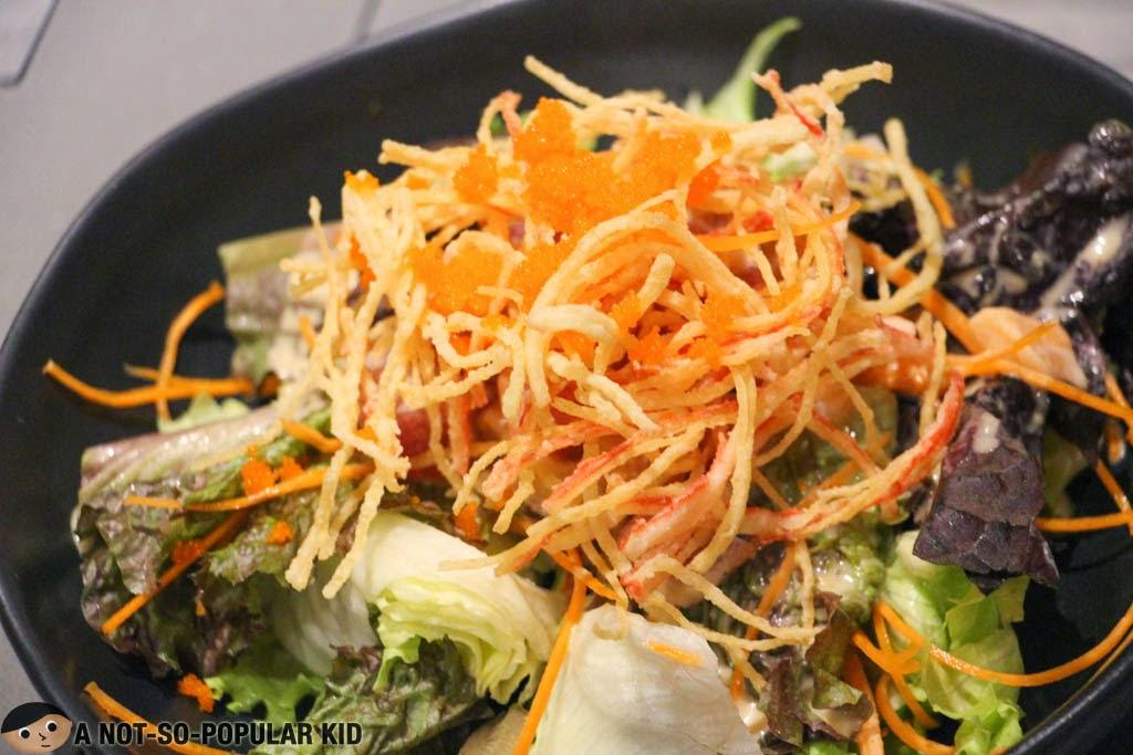 Sashimi Salad of Teriyaki Boy