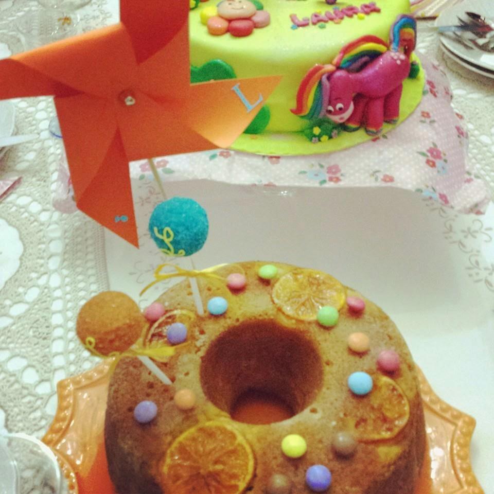O meu bolo de laranja