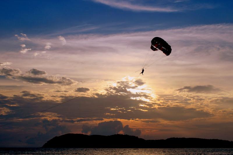 Sunset at Chenang Beach, Langkawi