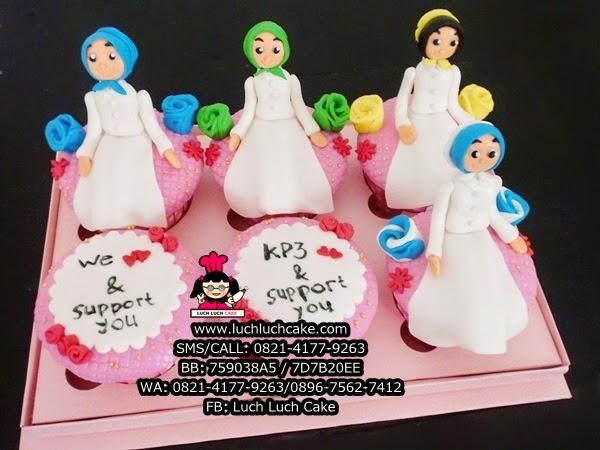Cupcake Cantik Untuk Hadiah Ulang Tahun