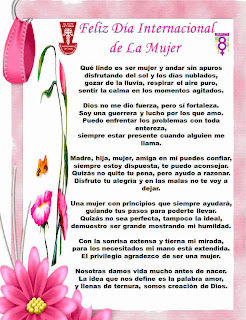 Frases Dia de la mujer 8 marzo