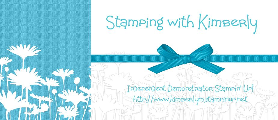 Stamping with Kimberly